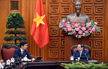 Thủ tướng đề nghị phía Nhật Bản tiếp tục dành các dự án ODA mới
