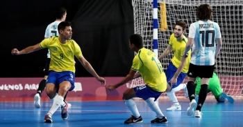 Đội tuyển futsal Brazil từng thắng tới 76-0 trước đại diện Đông Nam Á