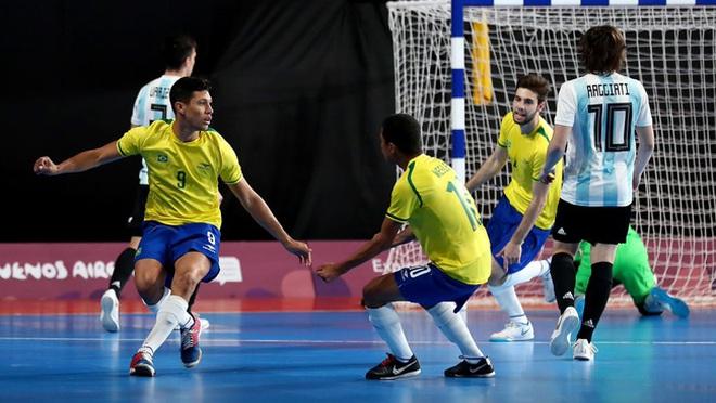 Đội tuyển futsal Brazil từng thắng tới 76-0 trước đại diện Đông Nam Á - 1