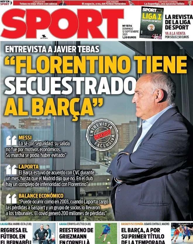 Chủ tịch La Liga khơi lại nỗi đau mất Lionel Messi của Barcelona - 2