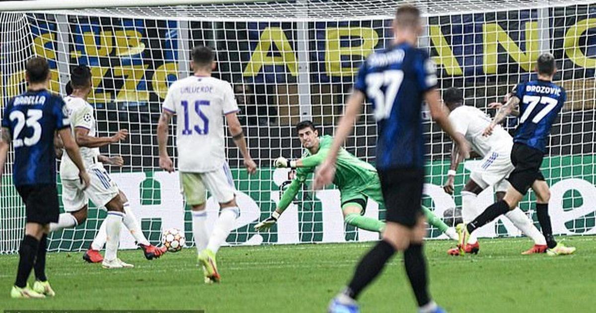 Real Madrid tiếp tục khiến Inter Milan ôm hận ở Champions League