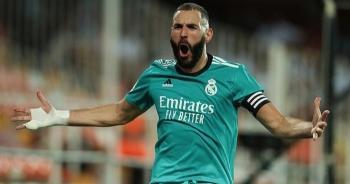 Thắng nghẹt thở Valencia, Real Madrid tiếp tục dẫn đầu La Liga