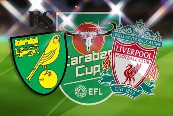 Link xem trực tiếp Norwich vs Liverpool (Cup Liên đoàn Anh), 1h45 ngày 22/9