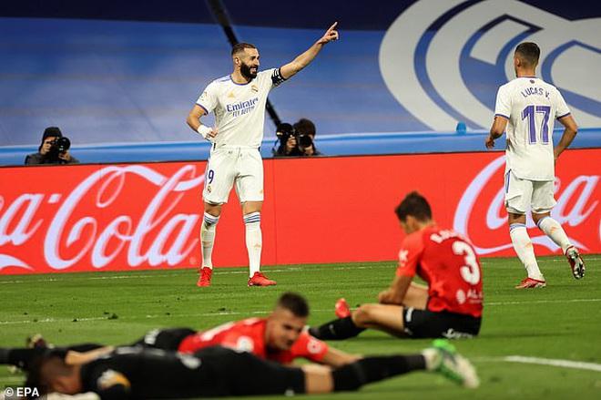 Thắng với tỷ số tennis, Real Madrid tiếp tục dẫn đầu La Liga - 1