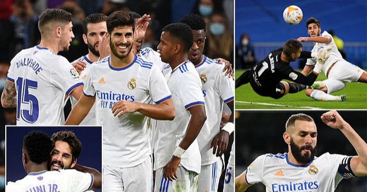 Thắng với tỷ số tennis, Real Madrid tiếp tục dẫn đầu La Liga