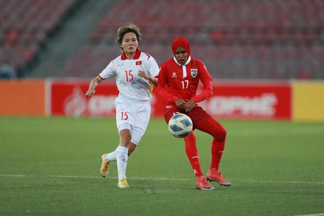 Đội tuyển nữ Việt Nam thắng đậm đối thủ 16-0 ở vòng loại châu Á - 2