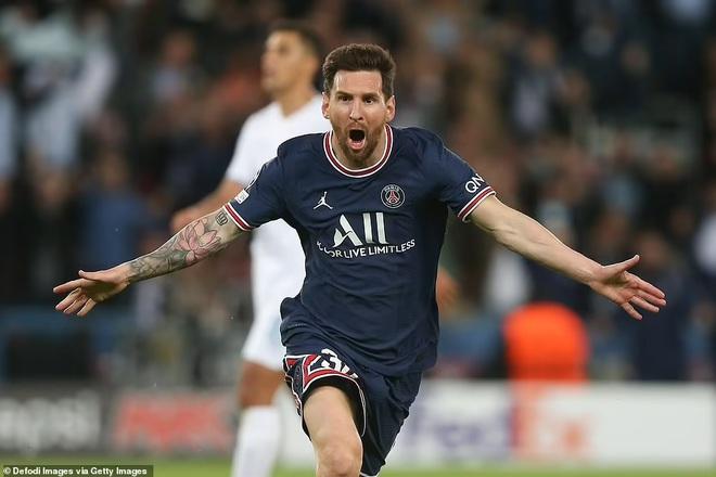 Messi đi vào lịch sử Champions League sau bàn thắng đầu tiên cho PSG