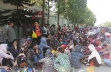 Hơn 8.000 công nhân giày da ở Thanh Hóa ngưng việc, đòi tăng lương