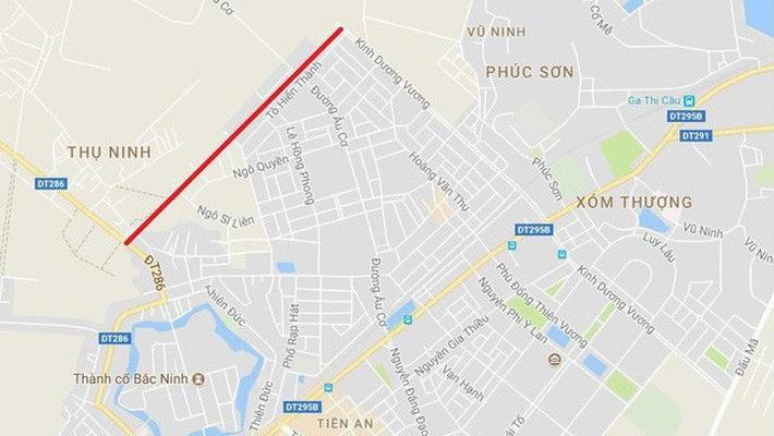 chinh phu giao 2 bo vao cuoc kiem tra lam ro viec bac ninh thuc hien du an doi 100ha dat lay 139km duong