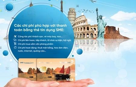 vietinbank phat hanh the tin dung sme