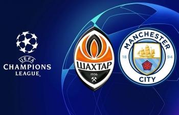 Xem trực tiếp bóng đá Shakhtar Donetsk vs Manchester City, 2h00 ngày 24/10