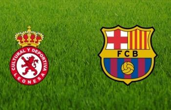 truc tiep bong da cultural leonesa vs barcelona 3h30 ngay 111