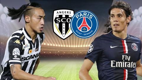 Xem trực tiếp PSG vs Angers ở đâu?