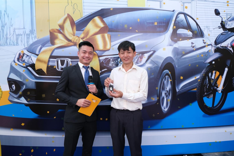 pvcombank trao tang xe o to honda city cho khach hang trung thuong chuong trinh khuyen mai he 2019