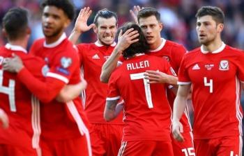Link xem trực tiếp Slovakia vs Wales (VL Euro 2020), 1h45 ngày 11/10