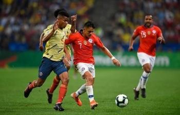 Link xem trực tiếp Colombia vs Chile (Giao hữu), 23h ngày 12/10