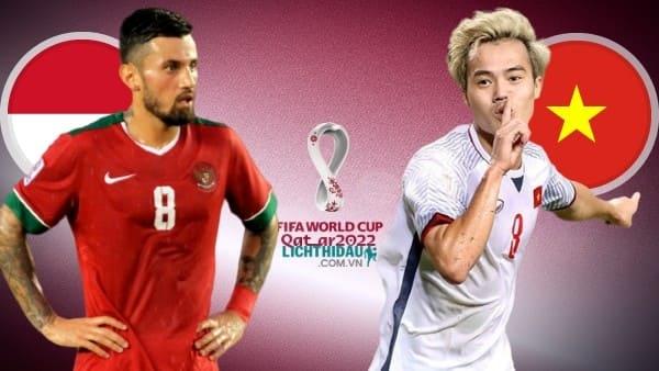 Link xem trực tiếp Indonesia vs Việt Nam (VL World Cup 2022), 18h30 ngày 15/10