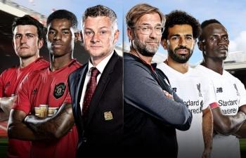 Xem trực tiếp Man Utd vs Liverpool (Ngoại hạng Anh), 22h30 ngày 20/10