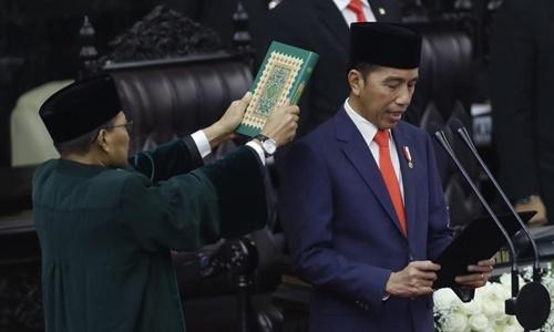 Tổng thống Indonesia tuyên thệ nhậm chức nhiệm kỳ hai