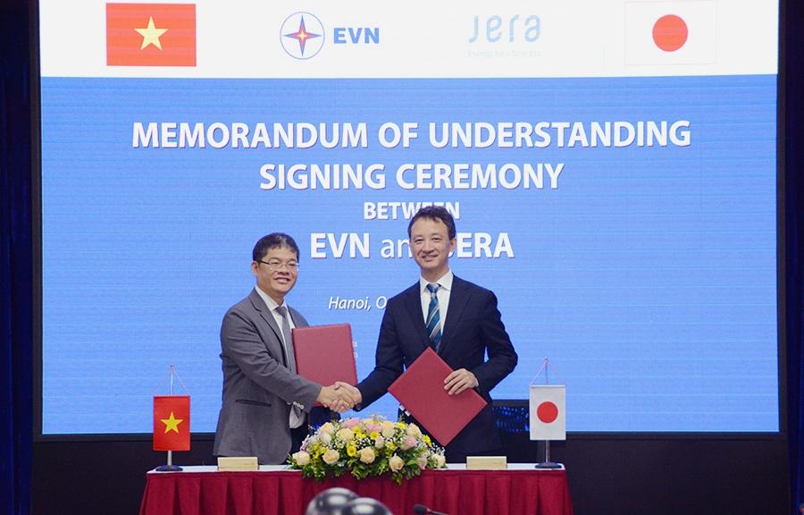 EVN và JERA tăng cường trao đổi thông tin về kinh doanh chuỗi giá trị LNG