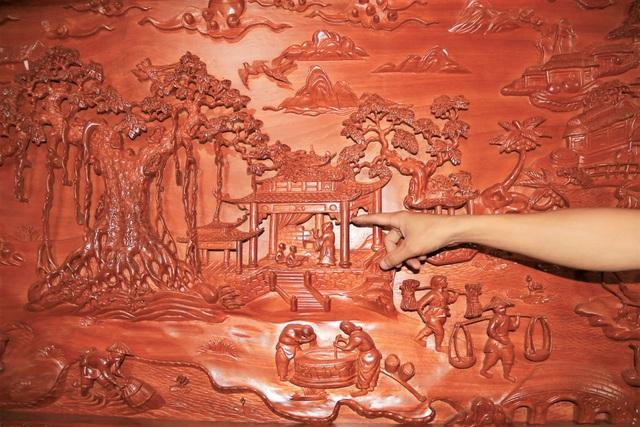 """Chàng trai làng """"thổi hồn"""" vào gỗ, kiếm hàng trăm triệu đồng mỗi năm - 5"""