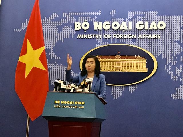 Việt Nam nói gì về công hàm chung của Anh, Pháp, Đức về Biển Đông? - 1