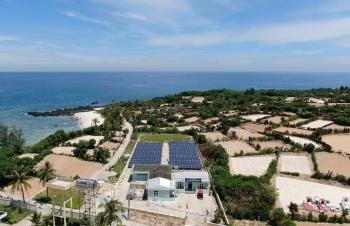 Thắp sáng đảo Bé bằng sáng tạo và nỗ lực của ngành điện