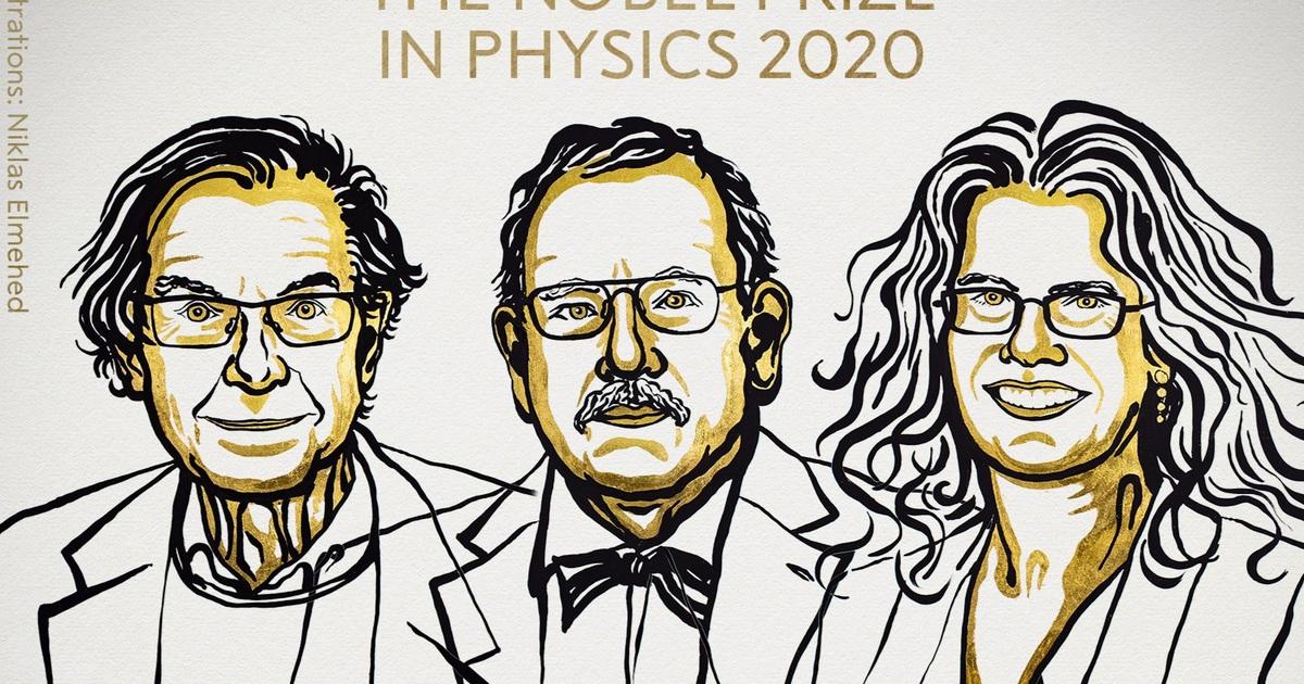 Nghiên cứu về hố đen vũ trụ, thiên hà đoạt giải Nobel Vật lý 2020