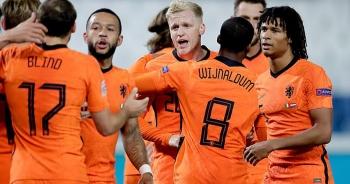 """Van De Beek """"nổ súng"""", Hà Lan bất phân thắng bại với Italia"""