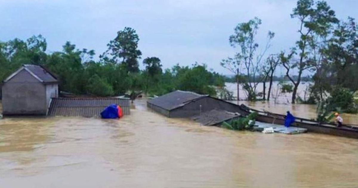 """Các tỉnh Hà Tĩnh, Quảng Bình sắp có mưa """"đặc biệt to"""""""