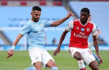 Xem trực tiếp Man City vs Arsenal (Ngoại hạng Anh), 23h30 ngày 17/10