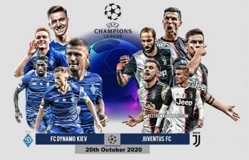 Xem trực tiếp Dinamo Kiev vs Juventus ở đâu?
