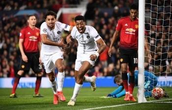 Link xem trực tiếp PSG vs Man Utd (Cup C1 Châu Âu), 2h ngày 21/10