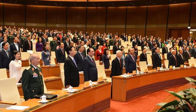 Khai mạc kỳ họp đặc biệt của Quốc hội khoá XIV - 2