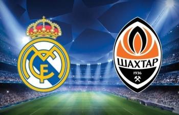 Xem trực tiếp Real Madrid vs Shakhtar ở đâu?