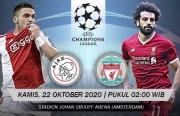 Link xem trực tiếp Ajax vs Liverpool (Cup C1 Châu Âu), 2h ngày 22/10