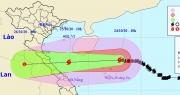 Bão số 8 giảm cường độ, hướng vào đất liền Hà Tĩnh đến Quảng Trị