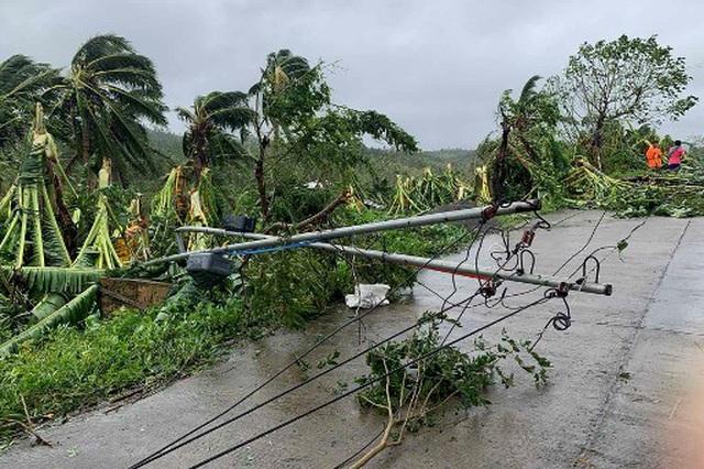 Bão Molave càn quét Philippines, ít nhất 13 người mất tích - 1