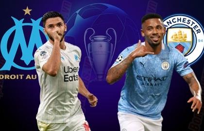 Xem trực tiếp Marseille vs Man City ở đâu?