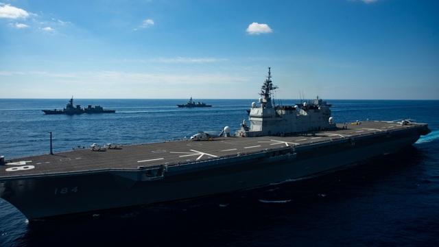 """Tàu sân bay Mỹ - Nhật tập trận """"khủng"""" - 3"""