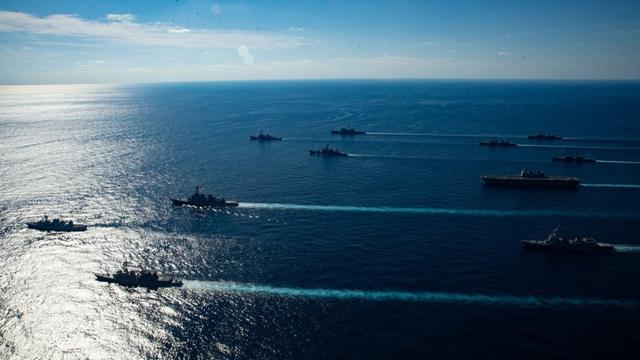 """Tàu sân bay Mỹ - Nhật tập trận """"khủng"""" - 4"""
