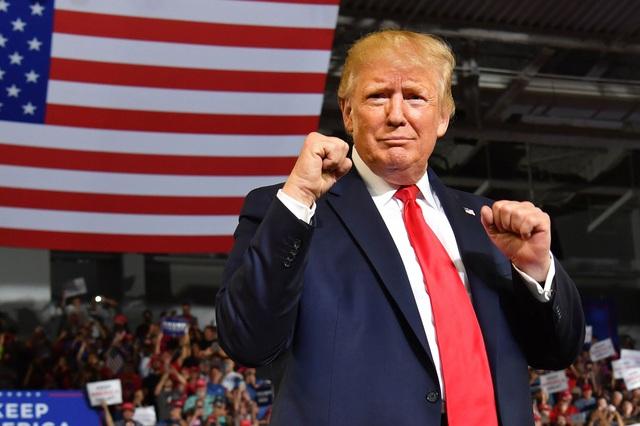 Bầu cử Mỹ 2020: Ông Trump lên sẵn kế hoạch ăn mừng tái đắc cử - 1
