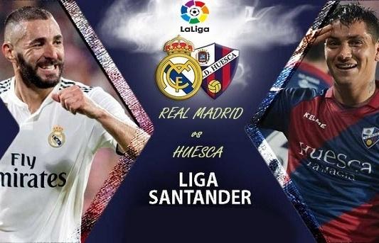 Link xem trực tiếp Real Madrid vs Huesca (La Liga), 20h ngày 31/10