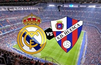 Xem trực tiếp Real Madrid vs Huesca ở đâu?