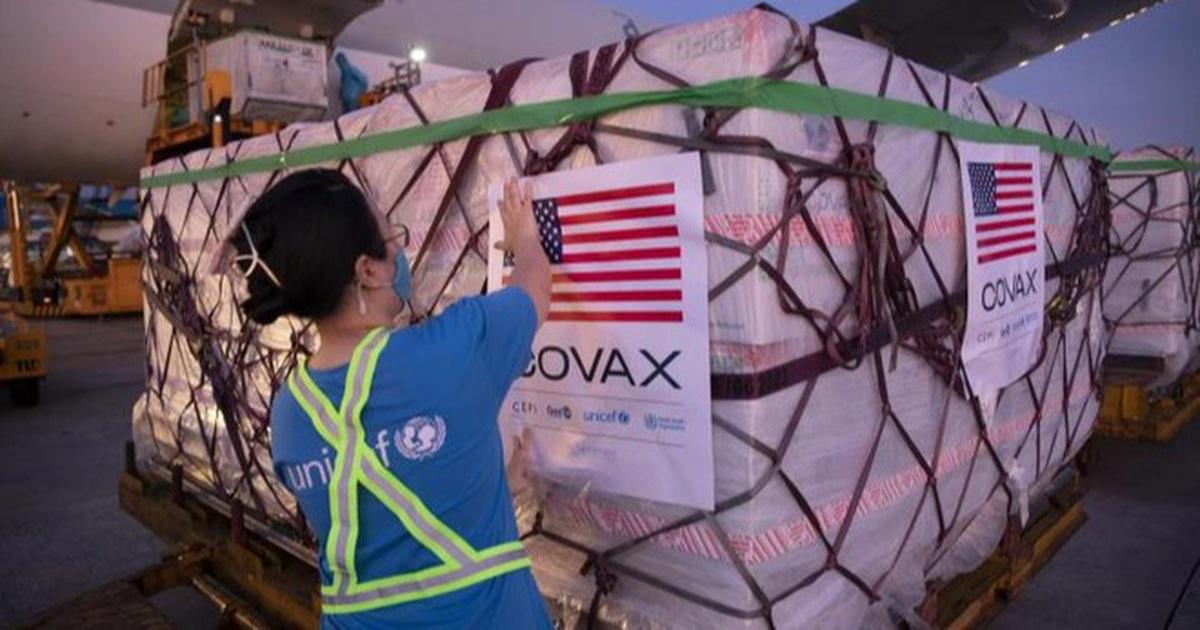 Mỹ tặng thêm 1,5 triệu liều vắc xin Pfizer cho Việt Nam