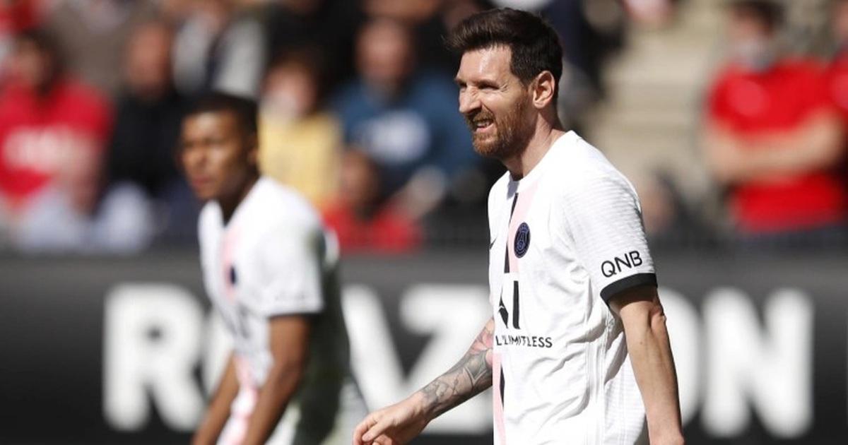 Messi, Neymar, Mbappe gây thất vọng, PSG lập kỷ lục tệ hại
