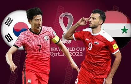 Link xem trực tiếp Hàn Quốc vs Syria (Vòng loại World Cup 2022), 18h ngày 7/10
