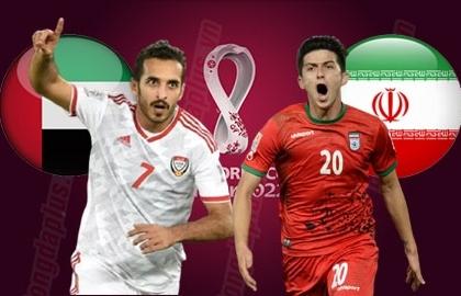 Link xem trực tiếp UAE vs Iran (Vòng loại World Cup 2022), 23h45 ngày 7/10