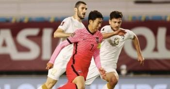 Son Heung Min ghi bàn, Hàn Quốc đánh bại Syria để lên ngôi đầu bảng A
