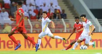 Thống kê phũ phàng với đội tuyển Việt Nam sau trận thua Oman